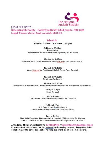 National Autistic Society – AGM