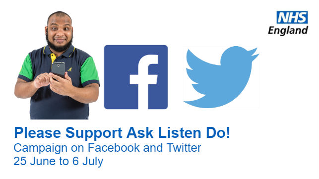 Please Support Ask Listen Do!