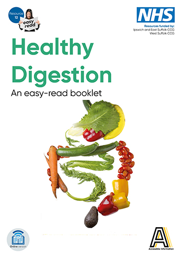 picture of the front cover of the healthy digestion booklet