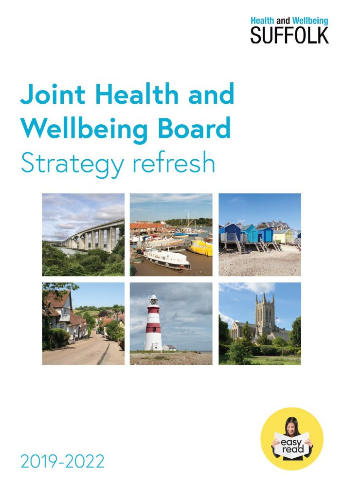 cover for the joint health and wellbeing strategy