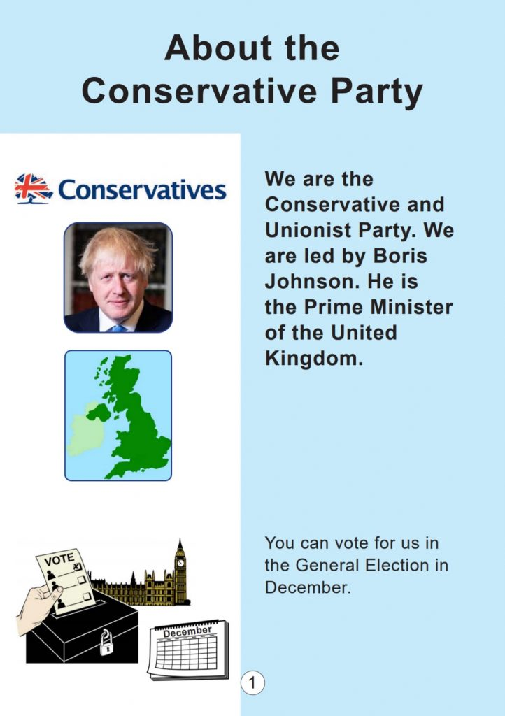 Conservative Party manifesto