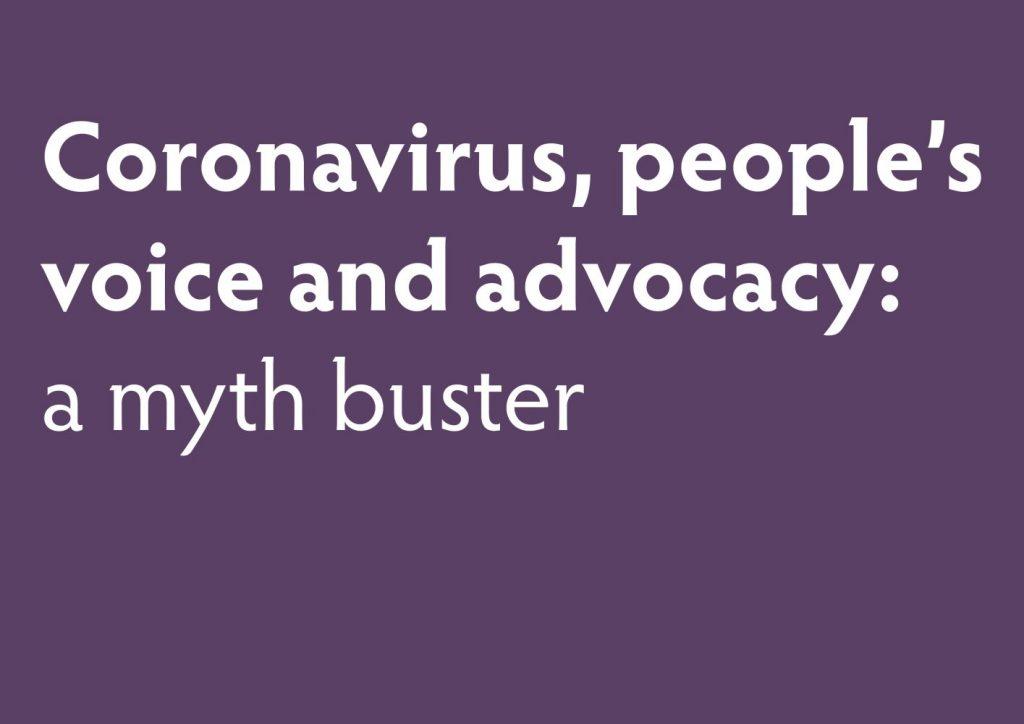 advocacy mythbuster
