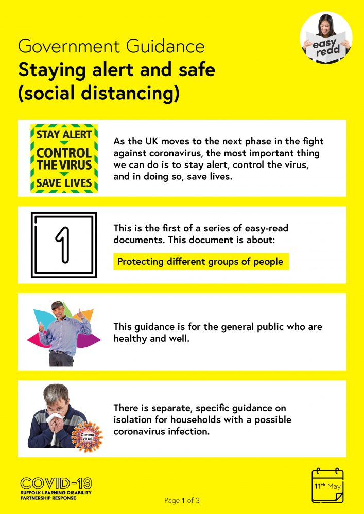 Staying alert and safe - 1. Protecting different groups of people