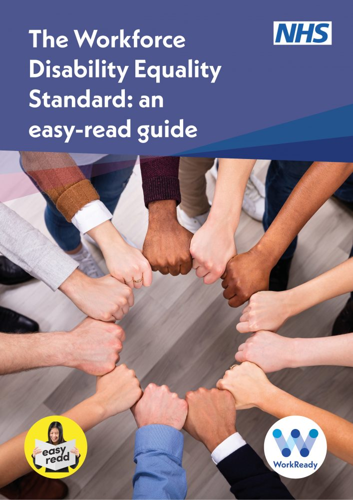 14. The Workforce Disability Equality Standard - an easy-read guide (final draft)