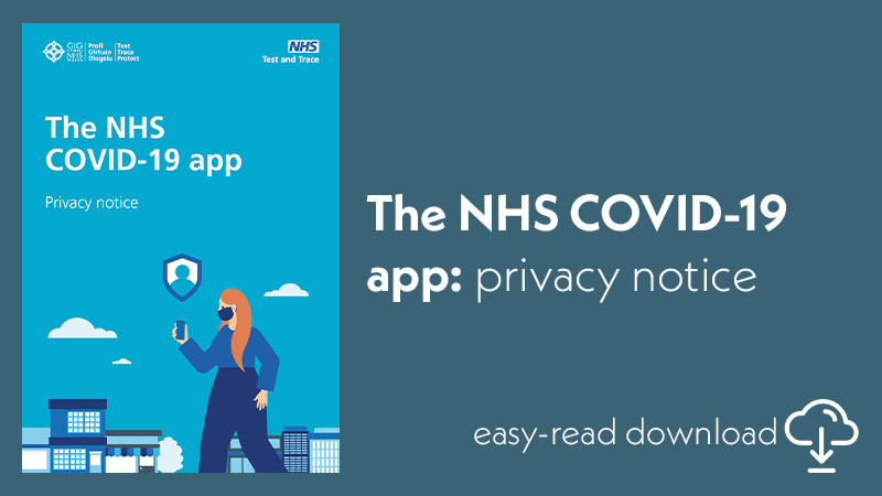 NHS covid app - privacy notice featured