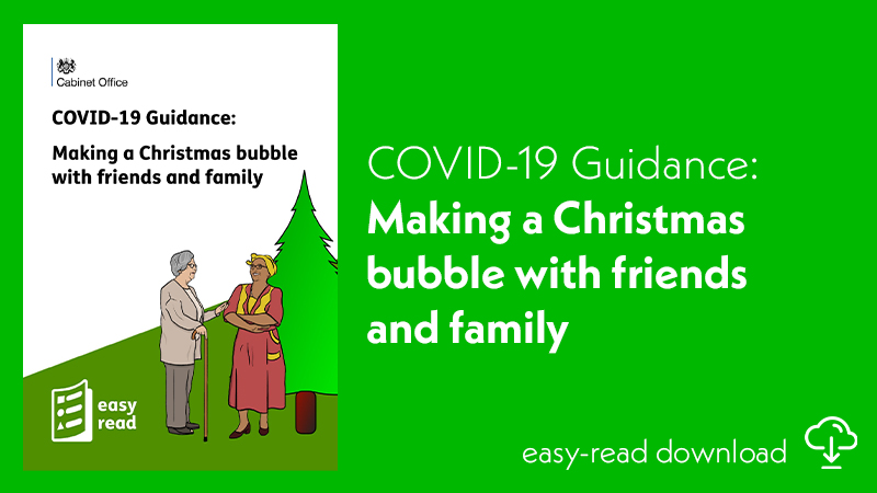 COVID-19 Guidance - Making a Christmas bubble with friends and family FEATURED
