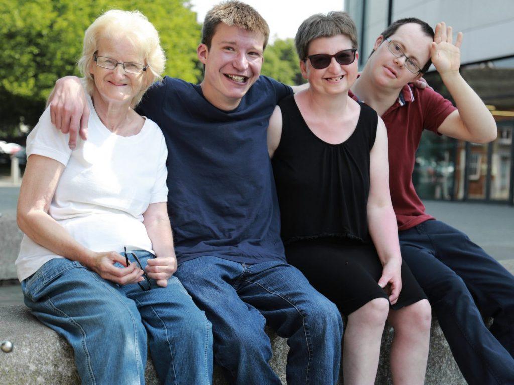 Hilda, Karl, Angela & Ian