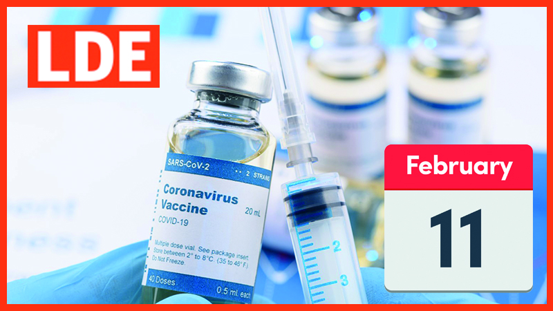 COVID-19 Vaccine Session 11 February
