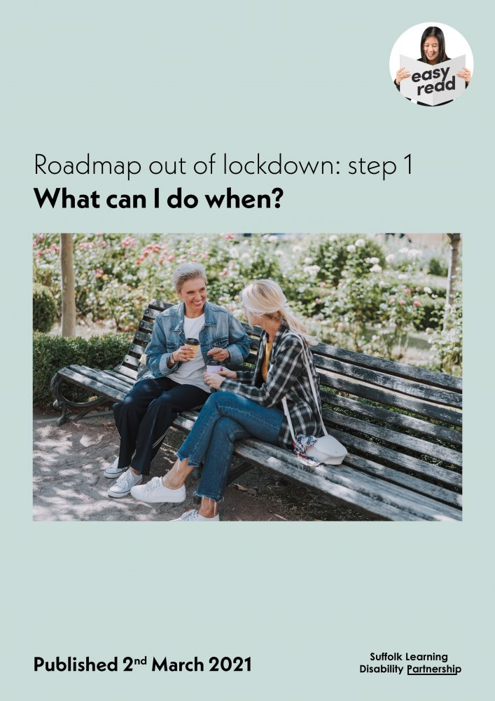 Roadmap out of lockdown step 1 what can i do when