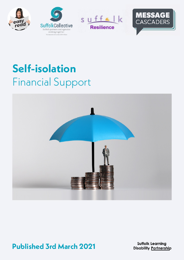 financial support self-isolation easy read-1