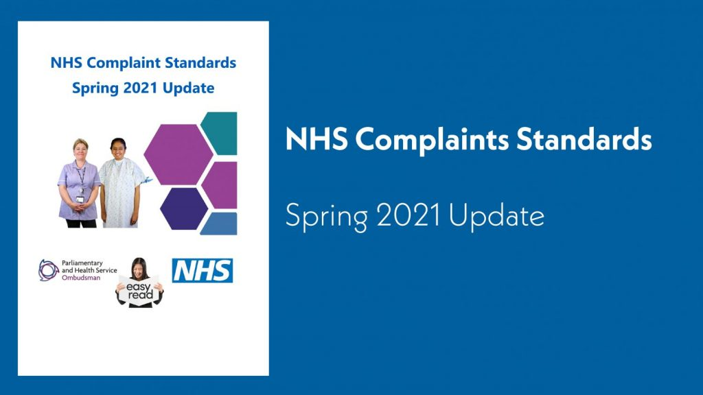 Featured image - NHS complaints standards