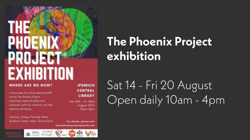 The Phoenix Project exhibition poster