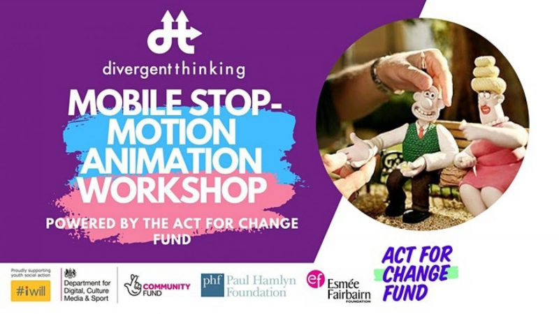Image showing the workshop title and an image of wallace and Piella Bakewell from Wallis and Gromit