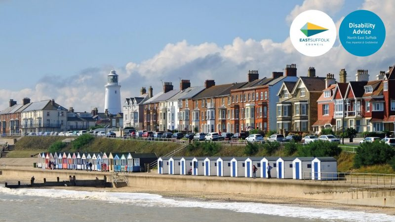 Southwold beach in the sunshine